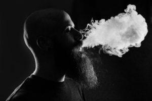 Qualm einer E-Zigarette